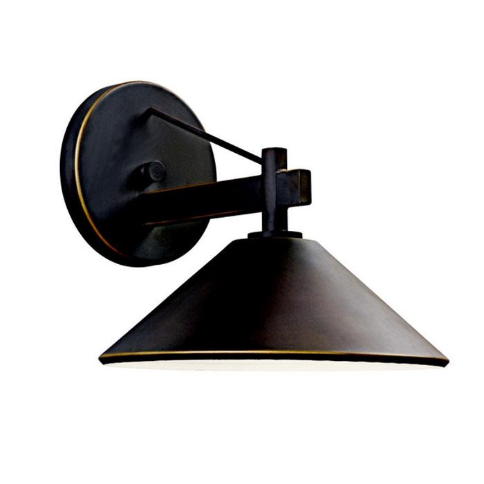 玄関 照明 門柱灯 門灯 外灯 屋外 ガーデンライト レトロ風照明 49059OZ KICHLER キチラー アンティーク風 ブラケット 照明器具 おしゃれ E26 白熱灯40W 100V
