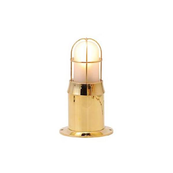 ガーデンライト LED 庭園灯 屋外 照明 マリンライト BH1000 FR LE+EN S くもりガラス 門柱灯 門灯 外灯 玄関 照明器具 おしゃれ E26 電球型LED 5W