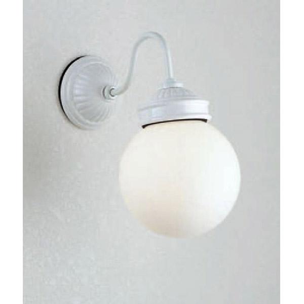 玄関照明 玄関 照明 門柱灯 門灯 外灯 屋外 MB50338-01-90 ランプ付き ホワイト シンプル モダン ブラケット 照明器具 おしゃれ LDA E26 9.1W