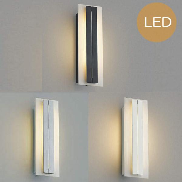 玄関照明 玄関 照明 LED 門柱灯 門灯 外灯 屋外 AU42331L/AU42332L/AU42333L シンプル モダン 電球色 白熱灯40W相当