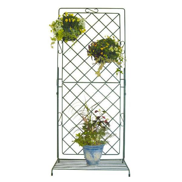 フラワースタンド 即納送料無料 トレリスで綺麗な花空間を作りましょう トレリス ラティス 爆安プライス TRS1BN DIY ガーデニンググッズ 園芸用品 プランタースタンド