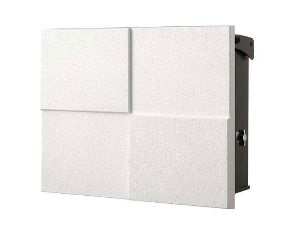 ポスト 郵便受け 壁掛け郵便ポスト デザインポスト 鍵付き パーサスNEO DECO 07フロストホワイト 壁付け ナチュラルモダン