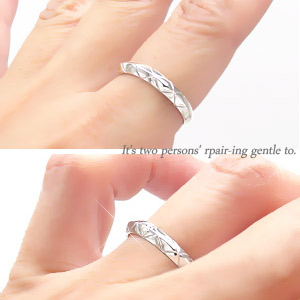 Pairing K18 gold K18WG K18PG K18YG original ring set ring solid happiness wedding rings men's women's wedding rings Bridal jewelry popular