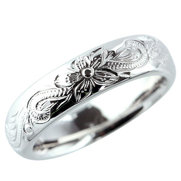 ハワイアンジュエリー 指輪 リング プラチナ900 pt900 シンプル メンズ レディース ジュエリー アクセサリー プレゼント ギフト