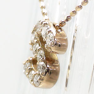 """抗炎""""S""""钻石字母表 K18 黄金首饰名称缩写名称"""