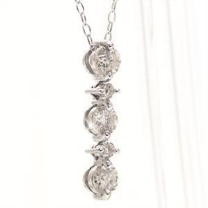 다이아몬드 목걸이 0.30 ct백금 900(PT900) 펜던트 롱 824 낙천 카드 분할