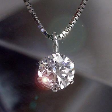 【あす楽/送料無料】Dカラー ダイヤモンド 0.3ctアップ ソリティア 6本爪 ペンダント ネックレス プラチナ900 pt900 レディース ジュエリー アクセサリー プレゼント ギフト