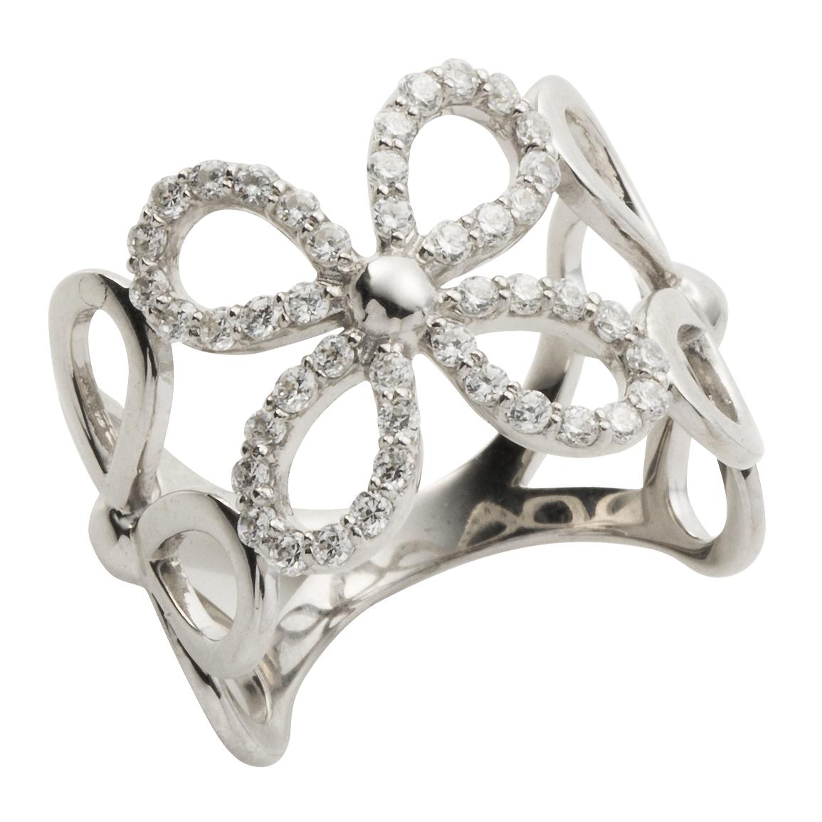 4008a1ee6942 ダイヤモンド リング 0.45ct 花 フラワー pt900 プラチナ 指輪 アクセ アクセサリー レディース【送料無料】 今日激安新作