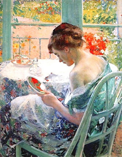 油絵 Richard Edward Miller_ 化粧
