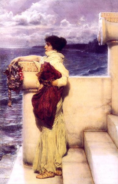 油絵 Sir Lawrence Alma-Tadema_英雄