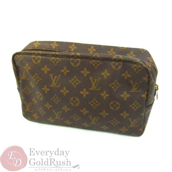 LOUIS VUITTON ルイヴィトン モノグラム トゥルーストワレット ポーチ 化粧 バッグ【zo】【中古】