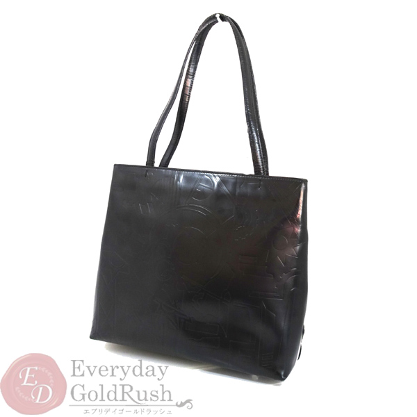 0c3db81b6a2a ... netherlands prada prada leather tote bag b8553 whole pattern black  32a29 27c90