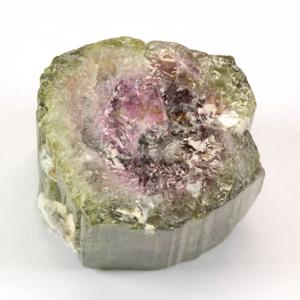 電気石♪天然バイカラートルマリン(ウオーターメロン) 原石 7.2g(36.23ct) 【あす楽】 【10P28Sep16】