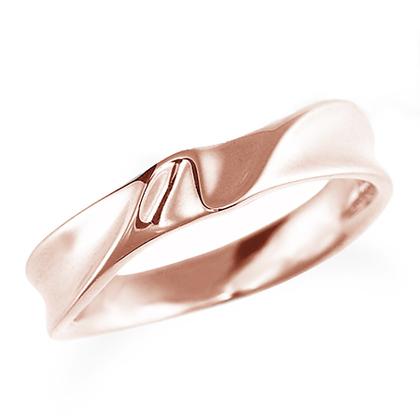 ペアリング(女性用) 結婚指輪 マリッジリング 結婚記念 K18ピンクゴールド 《Nourish M0980L》 【刻印無料 ケース付き 送料無料】 【A】