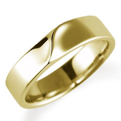 ペアリング(女性用) 結婚指輪 マリッジリング 結婚記念 K18イエローゴールド 《Nourish M0210L》 【刻印無料 ケース付き 送料無料】 【A】