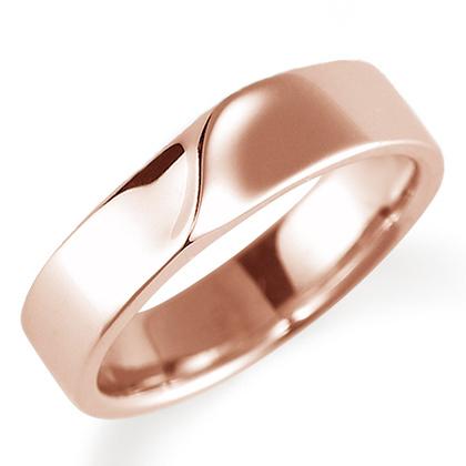 ペアリング(女性用) 結婚指輪 マリッジリング 結婚記念 K18ピンクゴールド 《Nourish M0210L》 【刻印無料 ケース付き 送料無料】 【B】