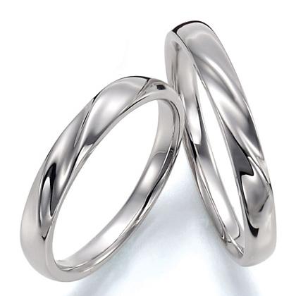 ペアリング(2本セット) 結婚指輪 マリッジリング 結婚記念 プラチナ900 《Prime M0043》 ギフト 【刻印無料 ケース付き 送料無料】 【A】