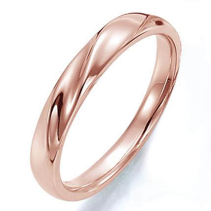 高品質・ハイクォリティー  ペアリング(女性用) 結婚指輪 マリッジリング 結婚記念 K18ピンクゴールド ダイヤモンドリング 《Prime M0043L》 【刻印無料 ケース付き 送料無料】 【532P17Sep16】