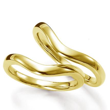 ペアリング(2本セット) 結婚指輪 マリッジリング 結婚記念 K18イエローゴールド 《Prime M0436》 ギフト 【刻印無料ケース付き 送料無料】 【A】