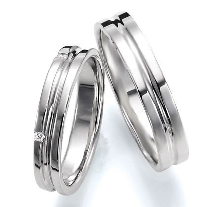 ペアリング(2本セット) 結婚指輪 マリッジリング 結婚記念 プラチナ900 《Wish M0251》 ダイヤモンドリング ギフト 【刻印無料 ケース付き 送料無料】 【A】