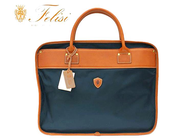 Felisi  ≪フェリージ≫ブリーフケースバッグ / 1845-DS-45ネイビーブルー (BLEU/ BLUE) *【人気商品】【期間限定セール】【送料無料】【メンズ】【レディース】【ビジネスバッグ】【鞄】