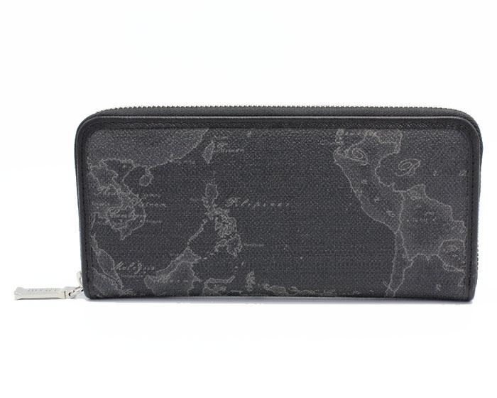 PRIMA CLASSE  ≪プリマクラッセ≫ ラウンドファスナー長財布 / W057 -6426 (#59) ブラック 世界地図柄 (画像1、2枚目の柄目をお送りします。) 【送料無料】【★セール価格】