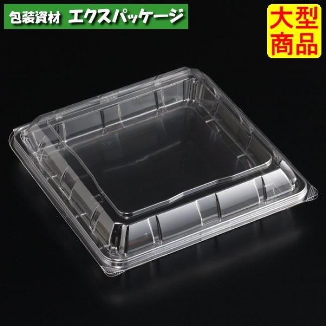 ユニコン L-角5 透明 本体・蓋一体 600枚入 5KK5110 ケース販売 大型商品 取り寄せ品 スミ