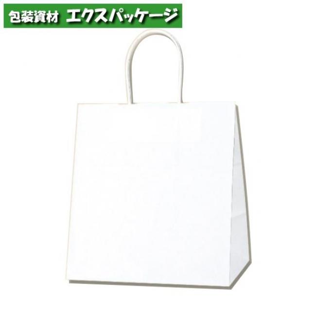 25チャームバッグ 26-18 片艶120g 白無地 200枚入 #003267101 ケース販売 取り寄せ品 シモジマ
