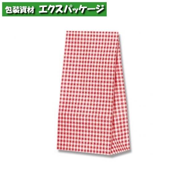 ファンシーバッグ S1 ギンガムミニアカ 2000枚入 #003078200 ケース販売 取り寄せ品 シモジマ