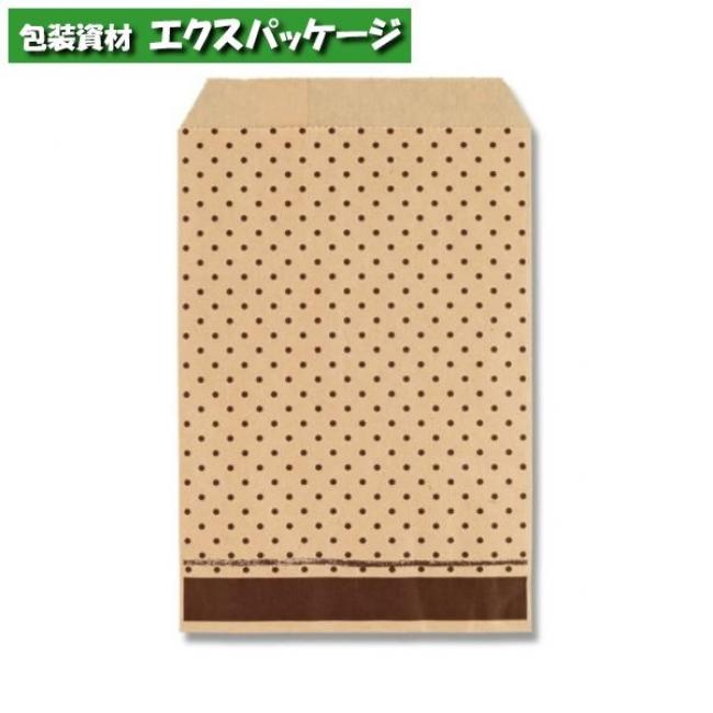 柄小袋 Rタイプ R-85 ピンドットBR 6000枚入 #006527277 ケース販売 取り寄せ品 シモジマ