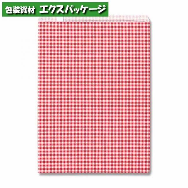 柄小袋 Rタイプ R-20 ギンガムミニ赤 2000枚入 #006522104 ケース販売 取り寄せ品 シモジマ