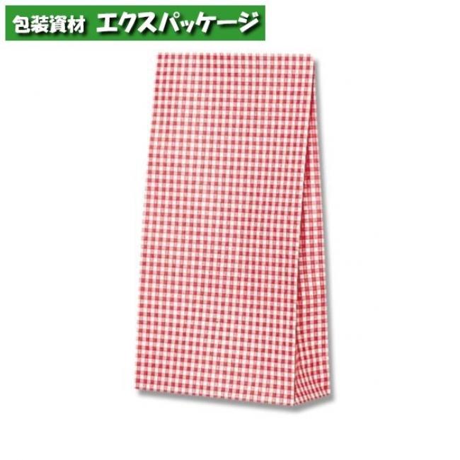 ファンシーバッグ S3 ギンガムミニアカ 1500枚入 #003078400 ケース販売 取り寄せ品 シモジマ