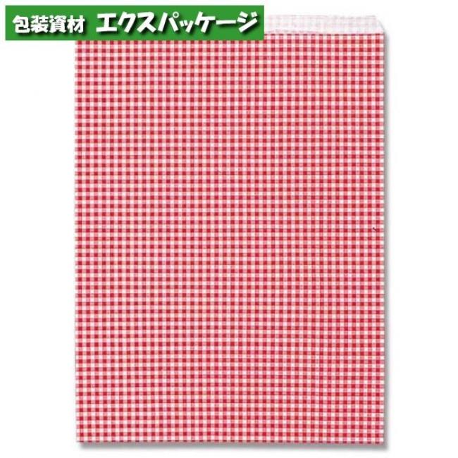 柄小袋 Rタイプ R-10 ギンガムミニ赤 2000枚入 #006522204 ケース販売 取り寄せ品 シモジマ