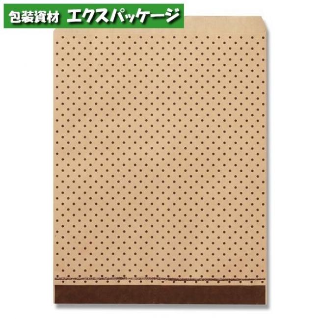 柄小袋 Rタイプ R-50 ピンドットBR 2000枚入 #006527271 ケース販売 取り寄せ品 シモジマ
