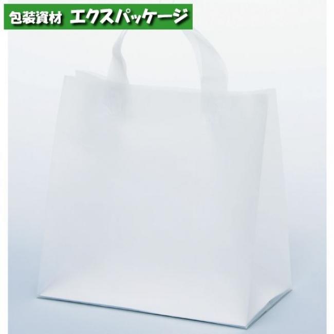 ポリ袋 手提袋 クレールバック 26 無地 XZV01094 300枚入 ケース販売 取り寄せ品 パックタケヤマ