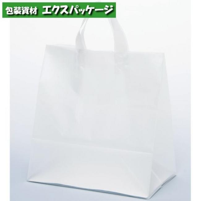 ポリ袋 手提袋 クレールバック 30 無地 XZV01096 300枚入 ケース販売 取り寄せ品 パックタケヤマ