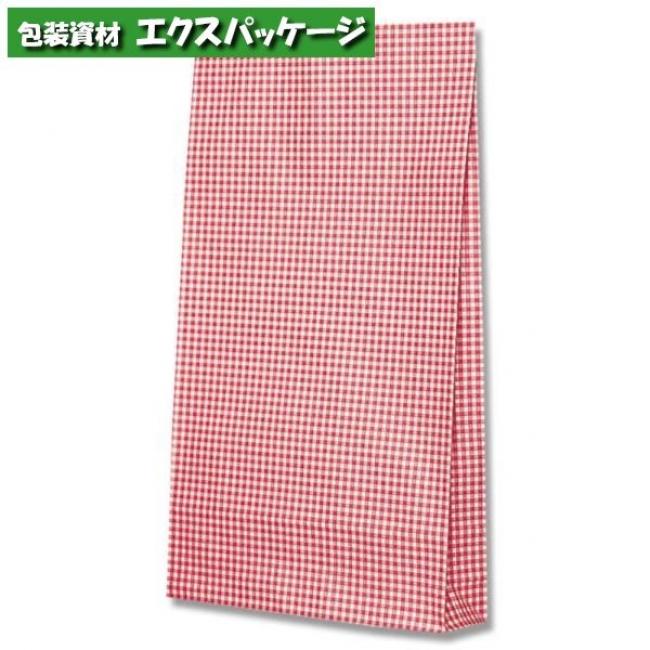 ファンシーバッグ Y判 ギンガムミニアカ 500枚入 #002821700 ケース販売 取り寄せ品 シモジマ
