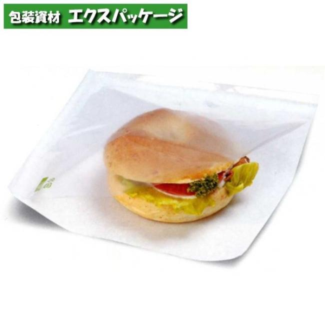 【福助工業】カトラバーガー袋 No.19 無地 3000入 0564044 【ケース販売】