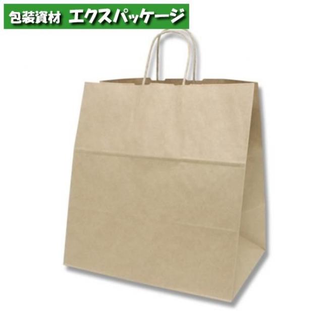 【シモジマ】25チャームバッグ 38-4 未晒無地 クラフト 200枚入 #003291001 【ケース販売】