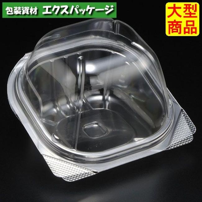 【スミ】 ユニコン LS-角105ドーム 透明 本体・蓋一体 1500枚入 5K10150 Vol.22P75 【ケース販売】