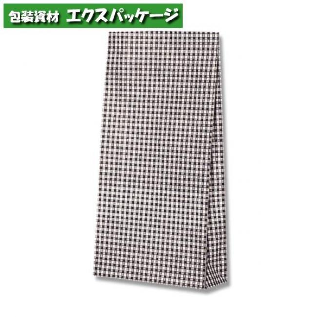 ファンシーバッグ S4 ギンガムミニクロ 1500枚入 #003079501 ケース販売 取り寄せ品 シモジマ