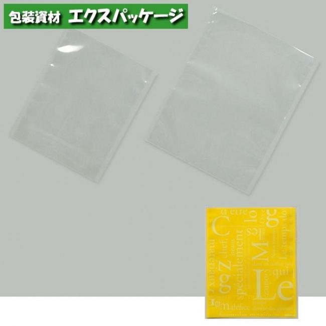 【福助工業】カマス袋 カマスGT (透明タイプ) No.3洋柄イエロー 4000枚 0801984 【送料無料】 【ケース販売】