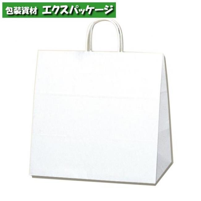 25チャームバッグ 34-1 片艶120g 白無地 200枚入 #003269000 ケース販売 取り寄せ品 シモジマ