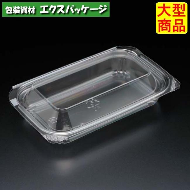 ユニコン 105 透明 800枚入 本体・蓋一体 5105110 ケース販売 大型商品 取り寄せ品 スミ