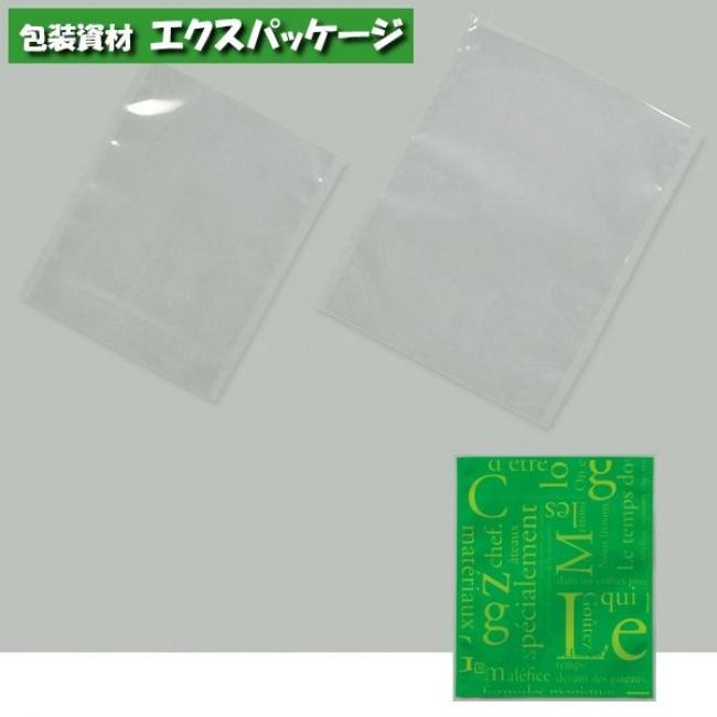 カマス袋 カマスGT (透明タイプ) No.3 洋柄グリーン 4000枚 0802018(0804134) ケース販売 取り寄せ品 福助工業