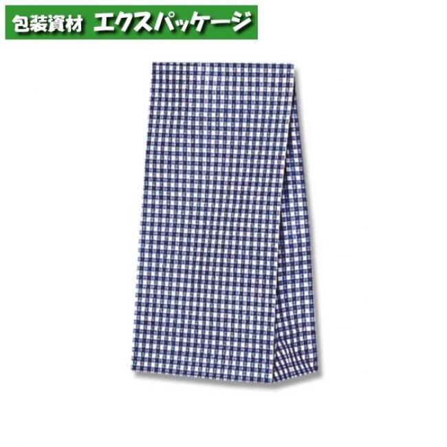 ファンシーバッグ S2 ギンガムミニ 青 2000枚入 #003079300 ケース販売 取り寄せ品 シモジマ