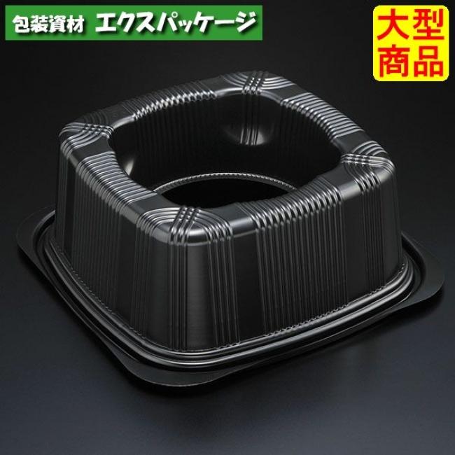 【スミ】 Fフラワーコンテナ2 B(黒) 蓋のみ 400枚入 9WF2201 Vol.22P109 【ケース販売】