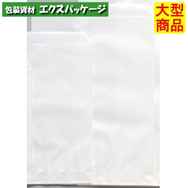 平袋 白4 白無地 ヒモあり XZT00332 5000枚入 ケース販売 取り寄せ品 パックタケヤマ