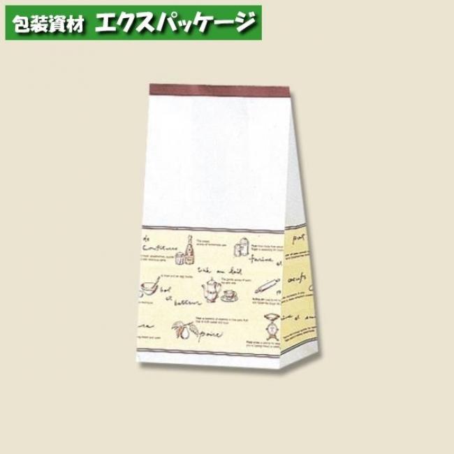 【シモジマ】角底袋 ティータイム No.4 2000枚入 #004047400 【ケース販売】