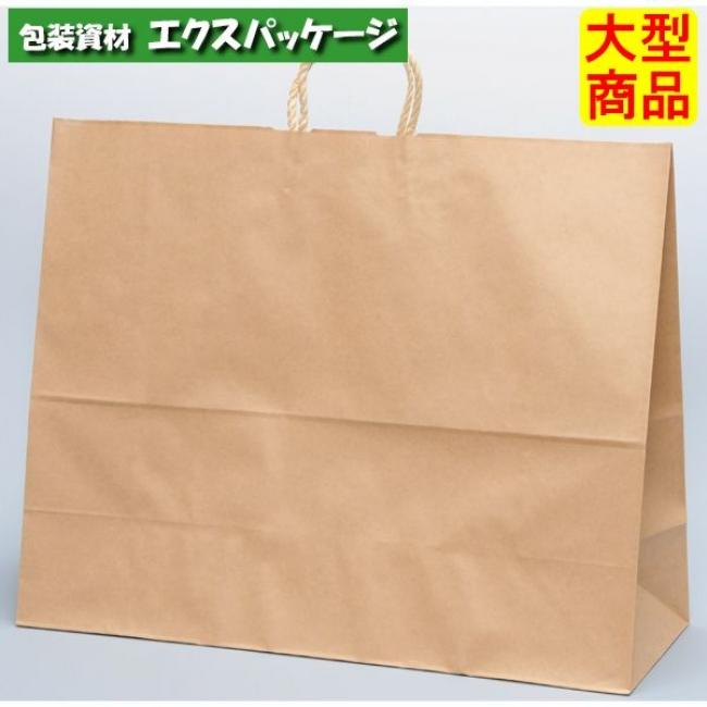 【パックタケヤマ】手提袋 HV160 未晒無地 XZT00885 100入 【ケース販売】